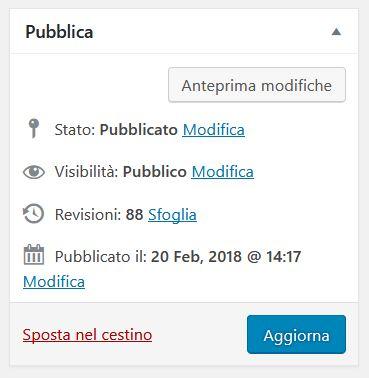 Revisioni di WordPress - Fabio Gasparrini creazione siti web a San Benedetto del Tronto e Ascoli Piceno