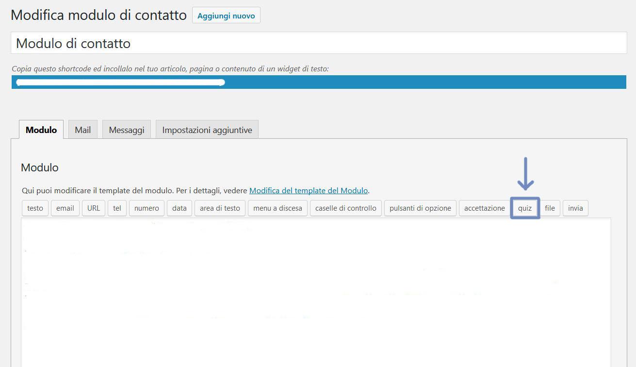 Quiz AntiSpam Contact Form 7 - Fabio Gasparrini creazione siti web a San Benedetto del Tronto e Ascoli Piceno