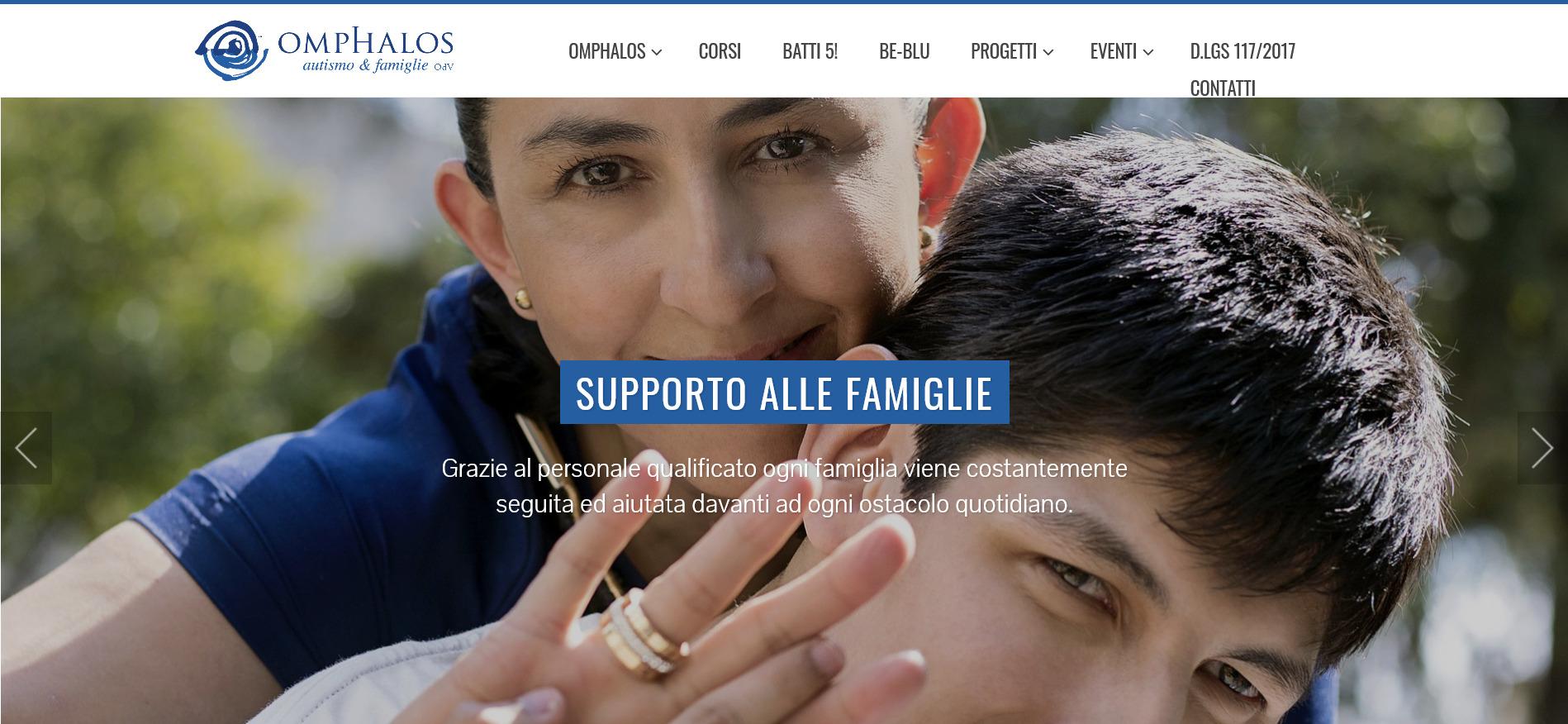 Sito Associazione Omphalos - Fabio Gasparrini siti web e grafica a San Benedetto del Tronto e Ascoli Piceno
