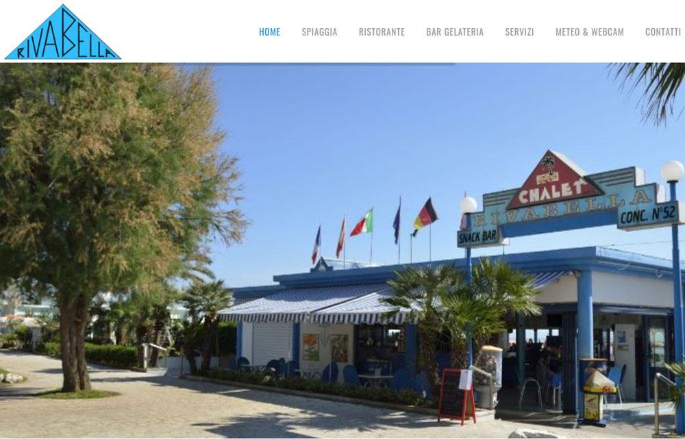 Sito Chalet Rivabella - Fabio Gasparrini siti web e grafica a San Benedetto del Tronto e Ascoli Piceno