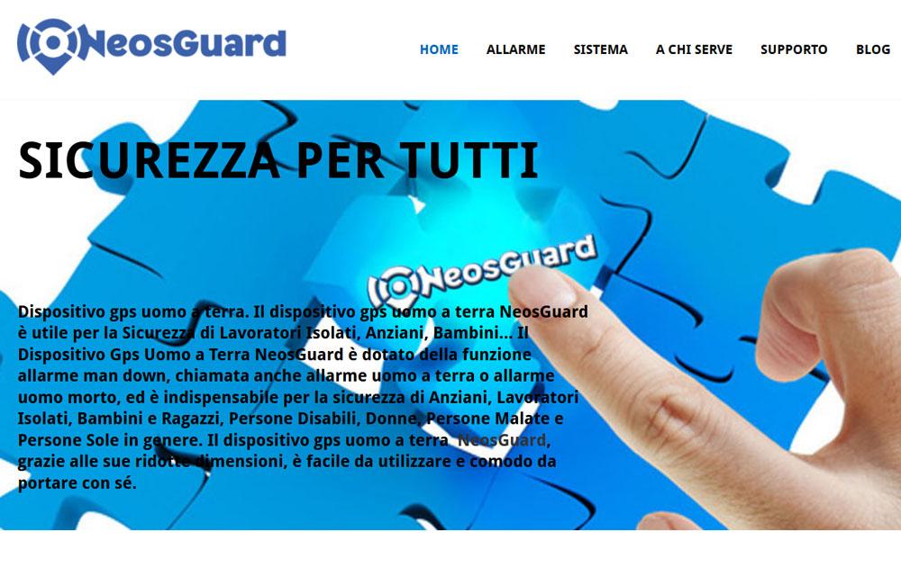 Sito Dispositivo Uomo a Terra - Fabio Gasparrini siti web e grafica a San Benedetto del Tronto e Ascoli Piceno