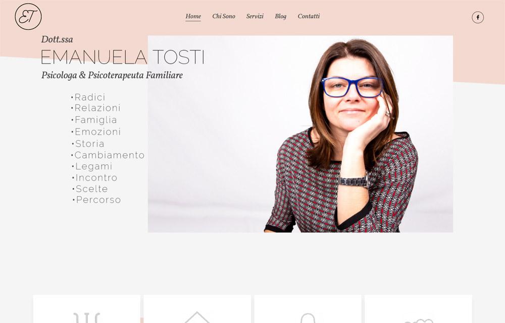 Sito Emanuela Tosti - Fabio Gasparrini siti web e grafica a San Benedetto del Tronto e Ascoli Piceno