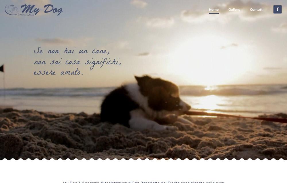 Sito My Dog - Fabio Gasparrini siti web e grafica a San Benedetto del Tronto e Ascoli Piceno
