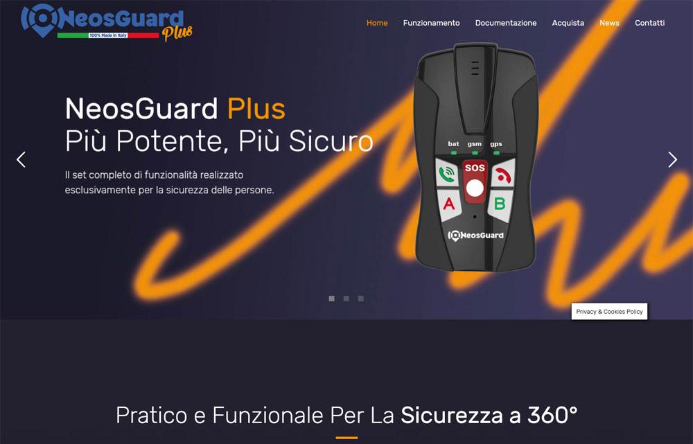 Sito NeosGuard Plus - Fabio Gasparrini siti web e grafica a San Benedetto del Tronto, Ascoli Piceno, Controguerra e Pagliare del Tronto
