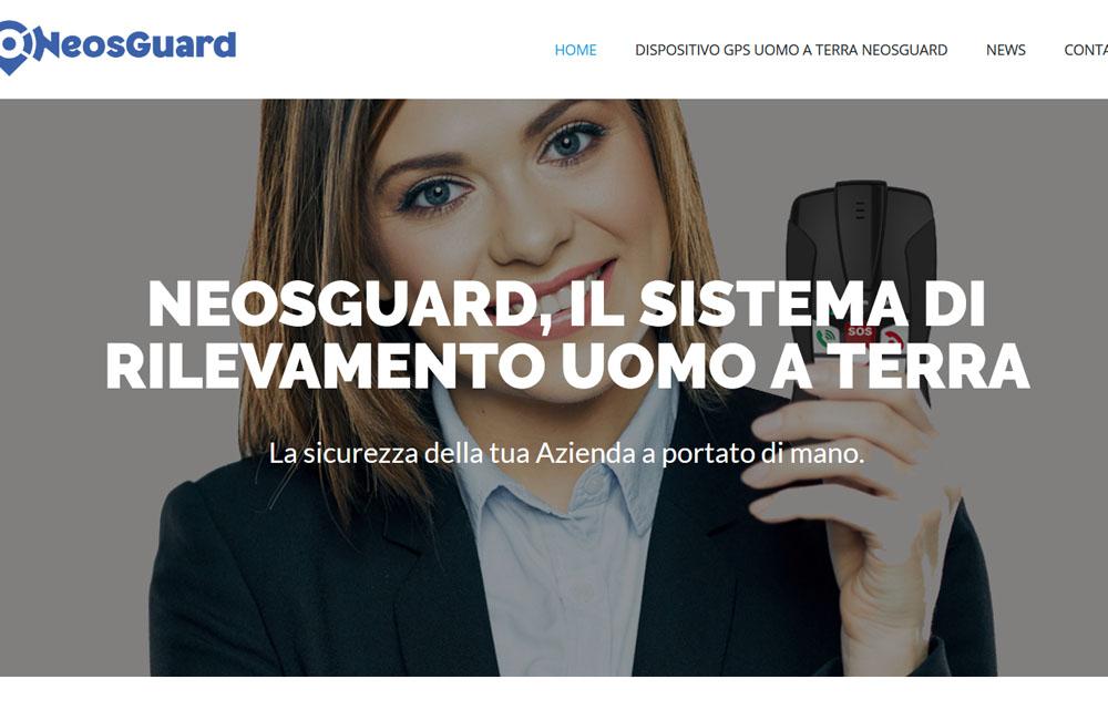 Sito Sistemi Rilevamento Uomo a Terra - Fabio Gasparrini siti web e grafica a San Benedetto del Tronto e Ascoli Piceno