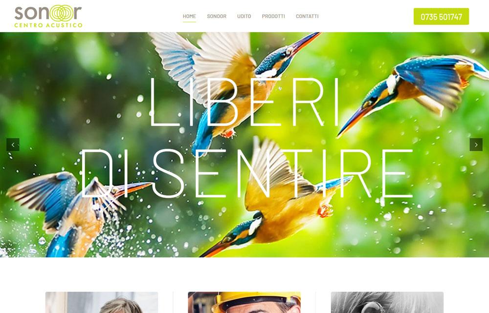 Sito Sonoor - Fabio Gasparrini siti web e grafica a San Benedetto del Tronto e Ascoli Piceno