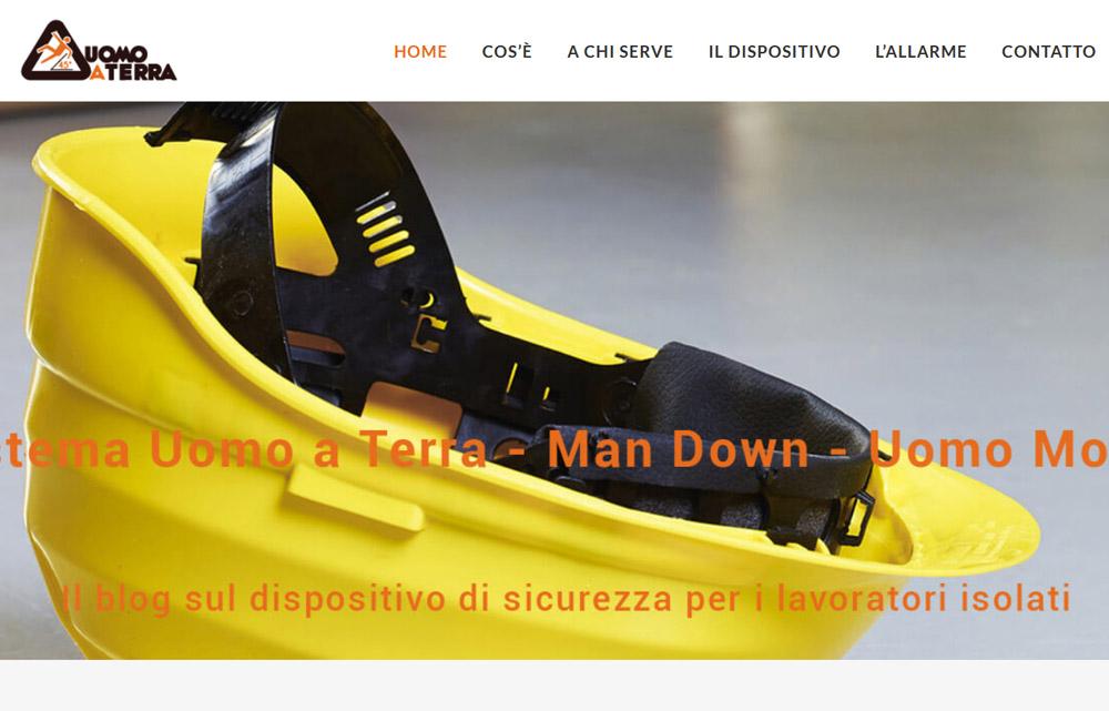 Sito Uomo a Terra - Fabio Gasparrini siti web e grafica a San Benedetto del Tronto e Ascoli Piceno