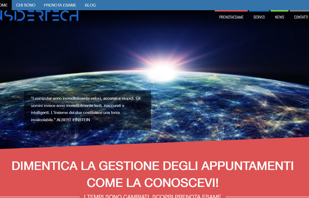 Sito web Insidertech - Fabio Gasparrini siti web e grafica a San Benedetto del Tronto e Ascoli Piceno