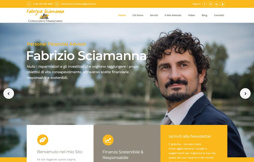 Sito Fabrizio Sciamanna
