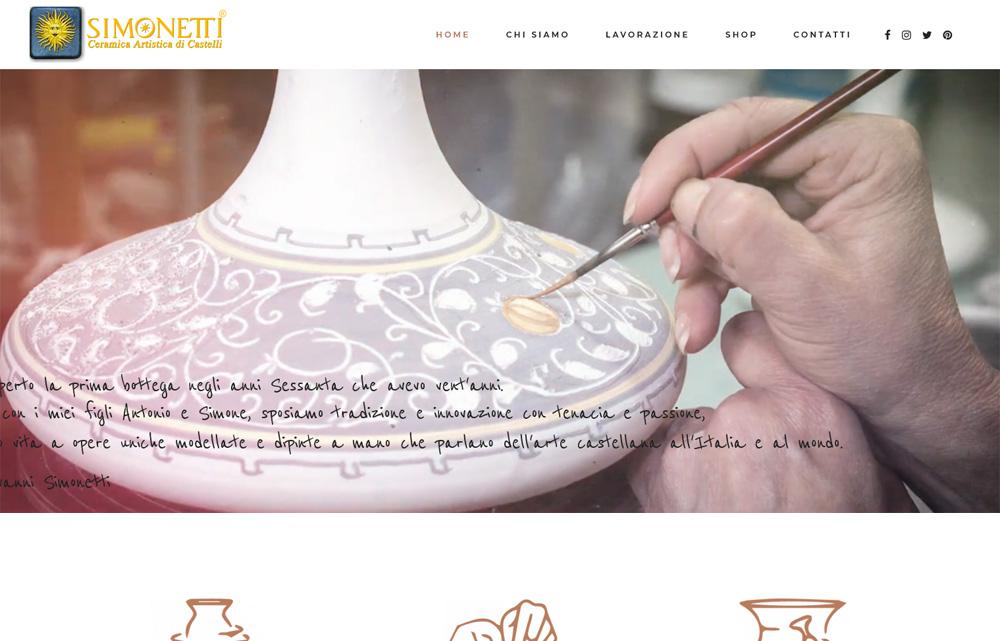 Sito Ceramiche Simonetti